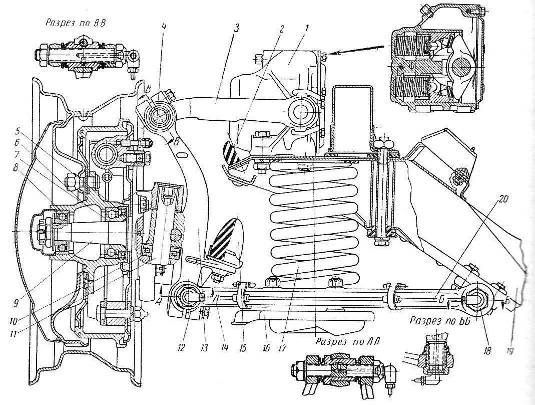 схема прокачки тормозной системы газ 21