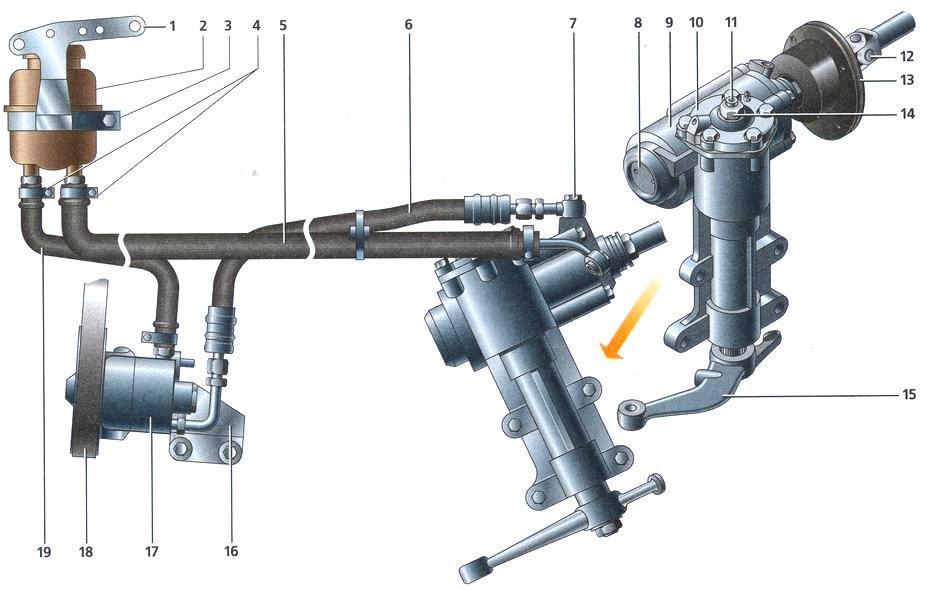 Механизм рулевого управления ГАЗ3110
